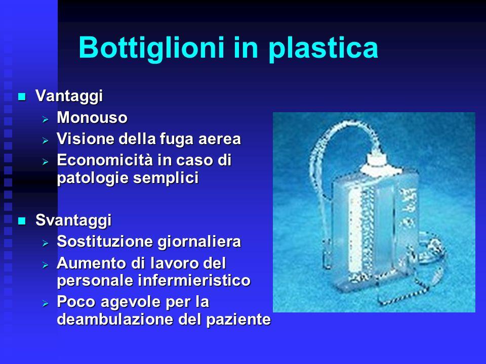Bottiglioni in plastica