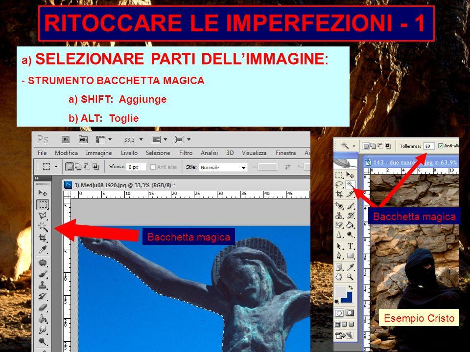 RITOCCARE LE IMPERFEZIONI - 1