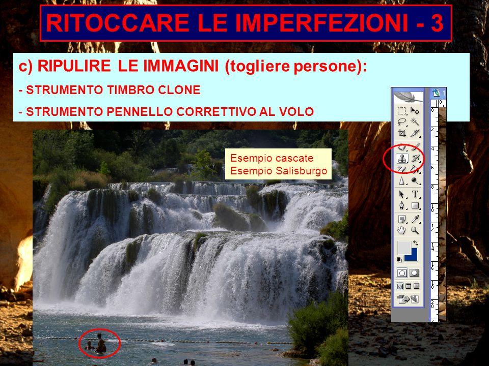 RITOCCARE LE IMPERFEZIONI - 3