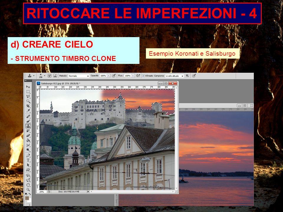 RITOCCARE LE IMPERFEZIONI - 4