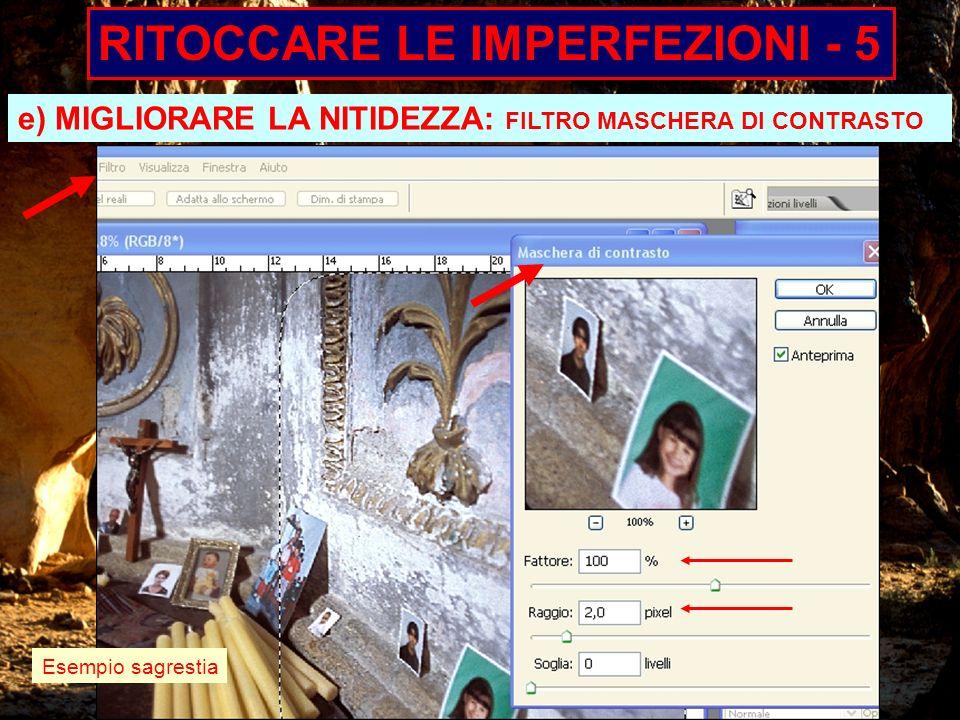 RITOCCARE LE IMPERFEZIONI - 5