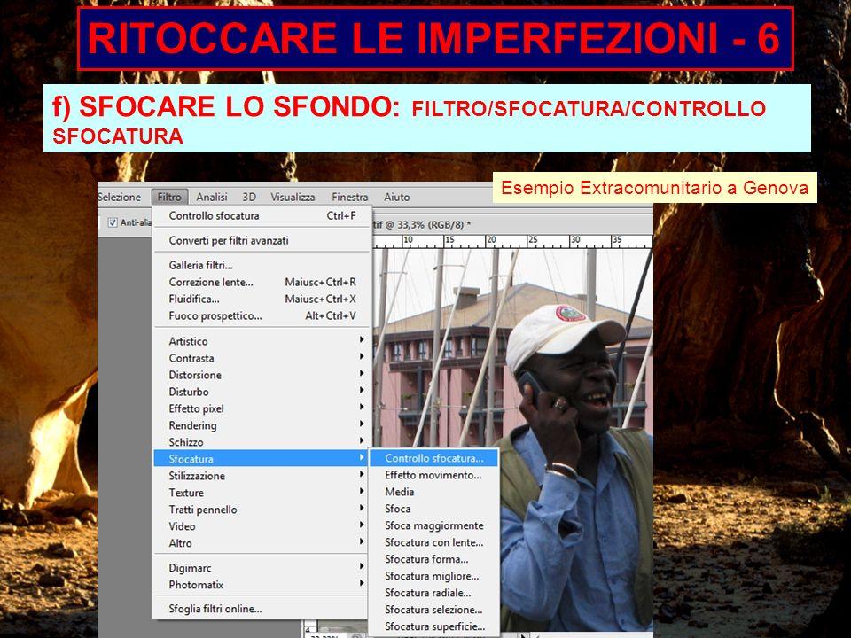RITOCCARE LE IMPERFEZIONI - 6
