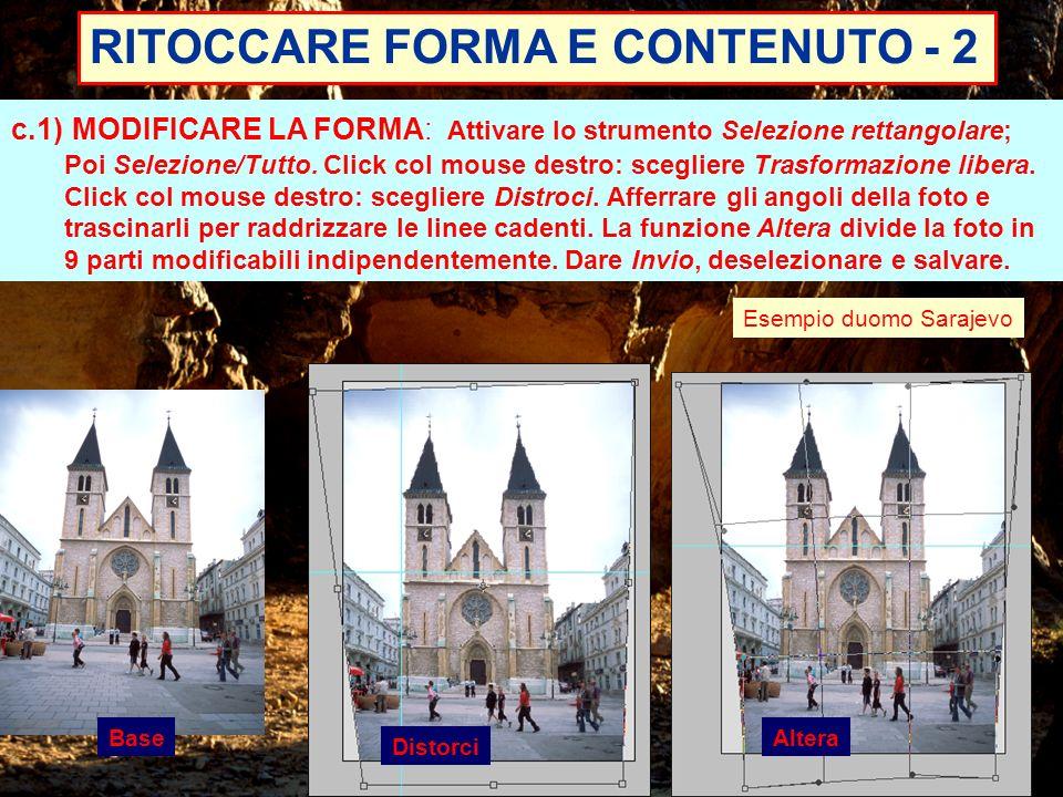 RITOCCARE FORMA E CONTENUTO - 2