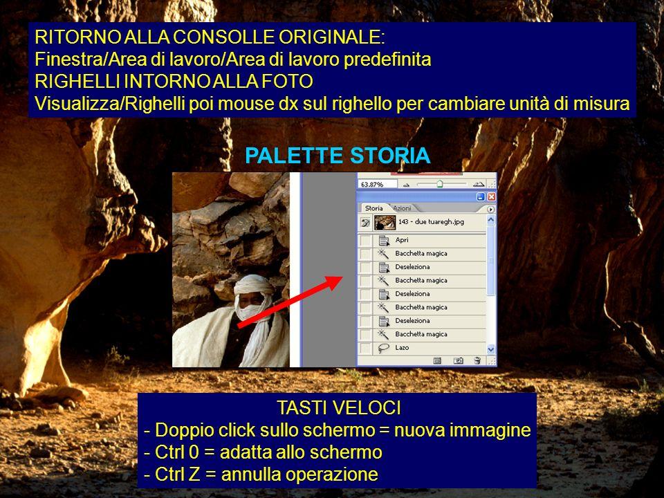 PALETTE STORIA RITORNO ALLA CONSOLLE ORIGINALE: