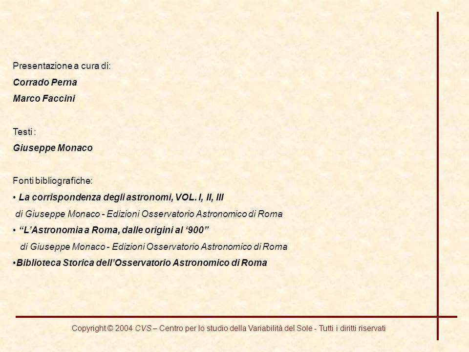 Presentazione a cura di: Corrado Perna Marco Faccini