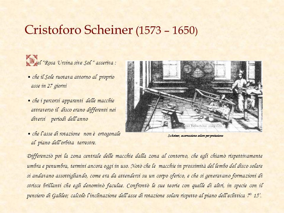 Cristoforo Scheiner (1573 – 1650)