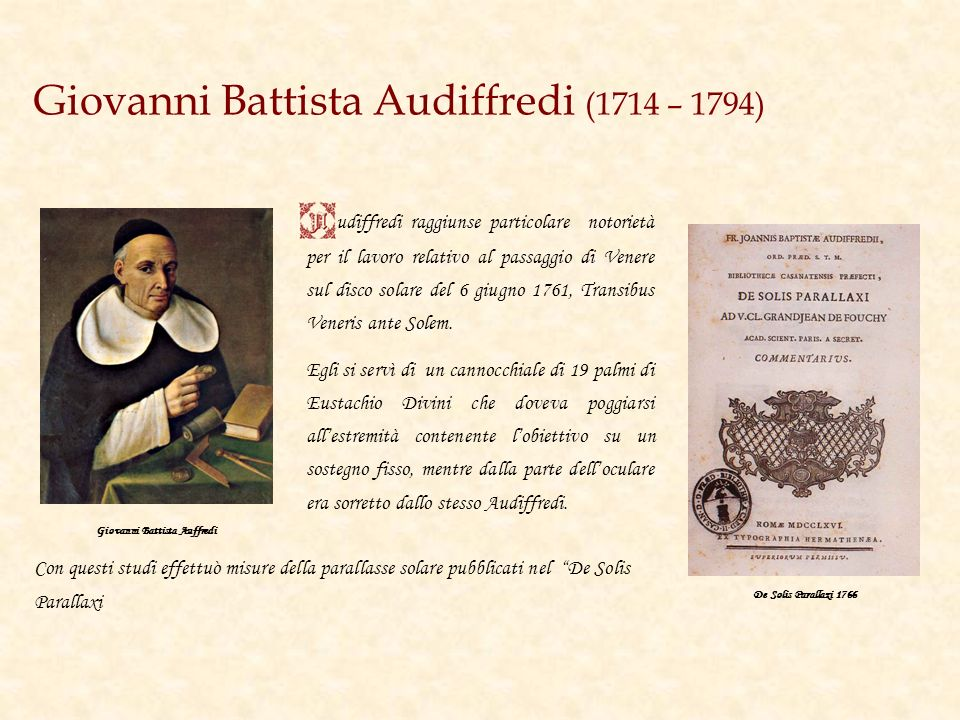 Giovanni Battista Audiffredi (1714 – 1794)