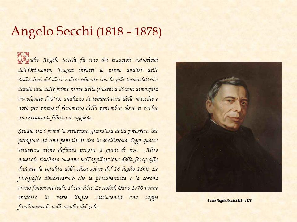 Angelo Secchi (1818 – 1878)