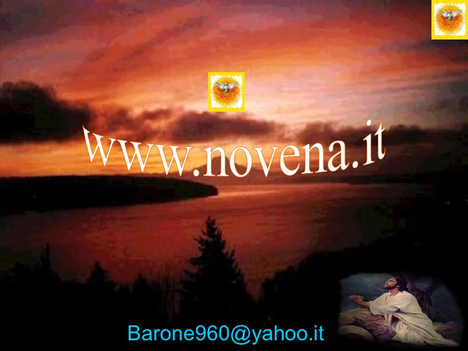 www.novena.it Barone960@yahoo.it