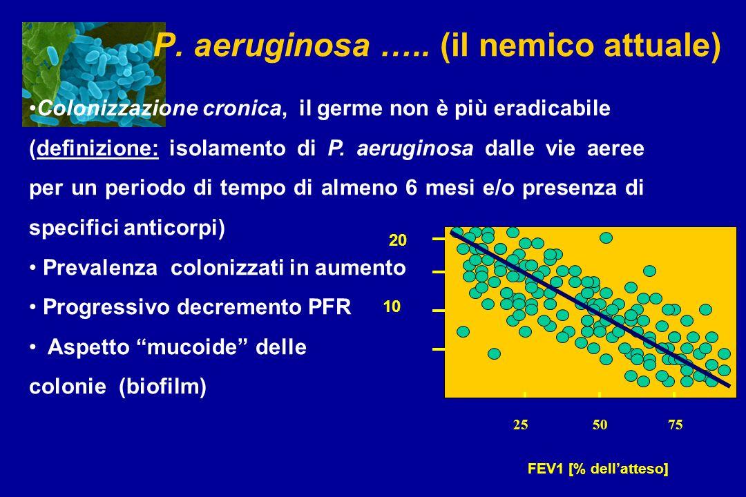 P. aeruginosa ….. (il nemico attuale)