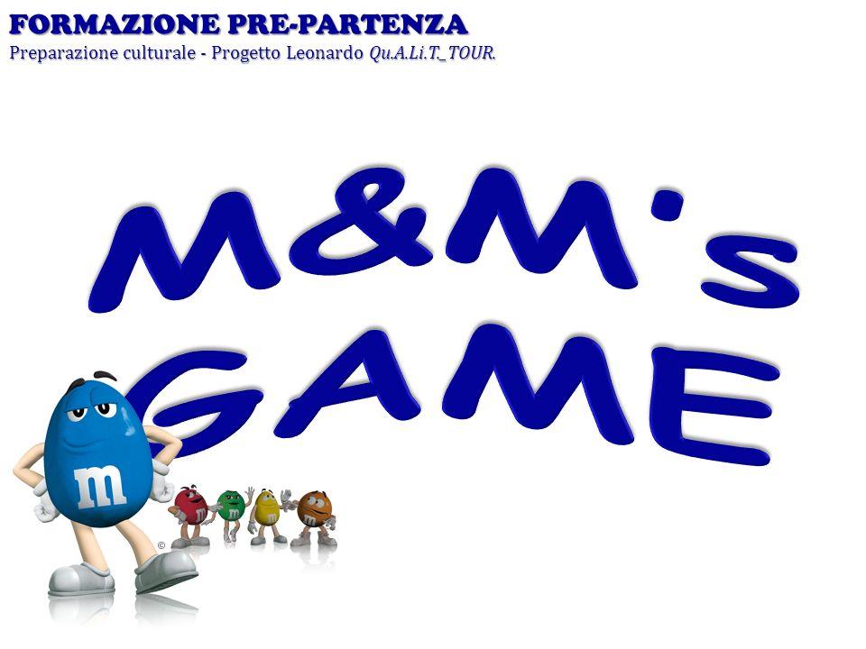 M&M's GAME FORMAZIONE PRE-PARTENZA