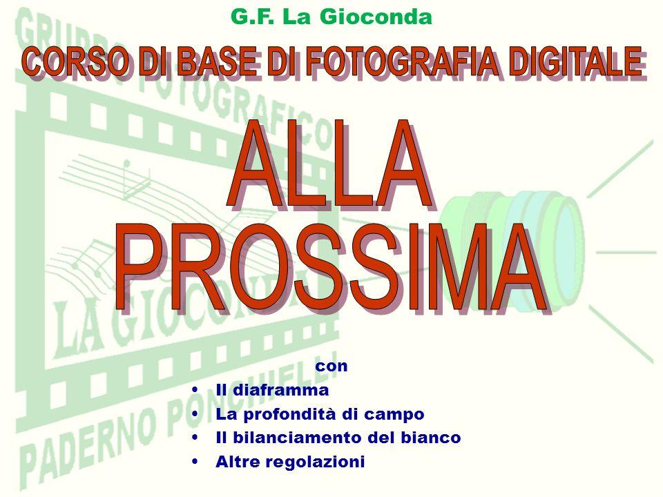 CORSO DI BASE DI FOTOGRAFIA DIGITALE