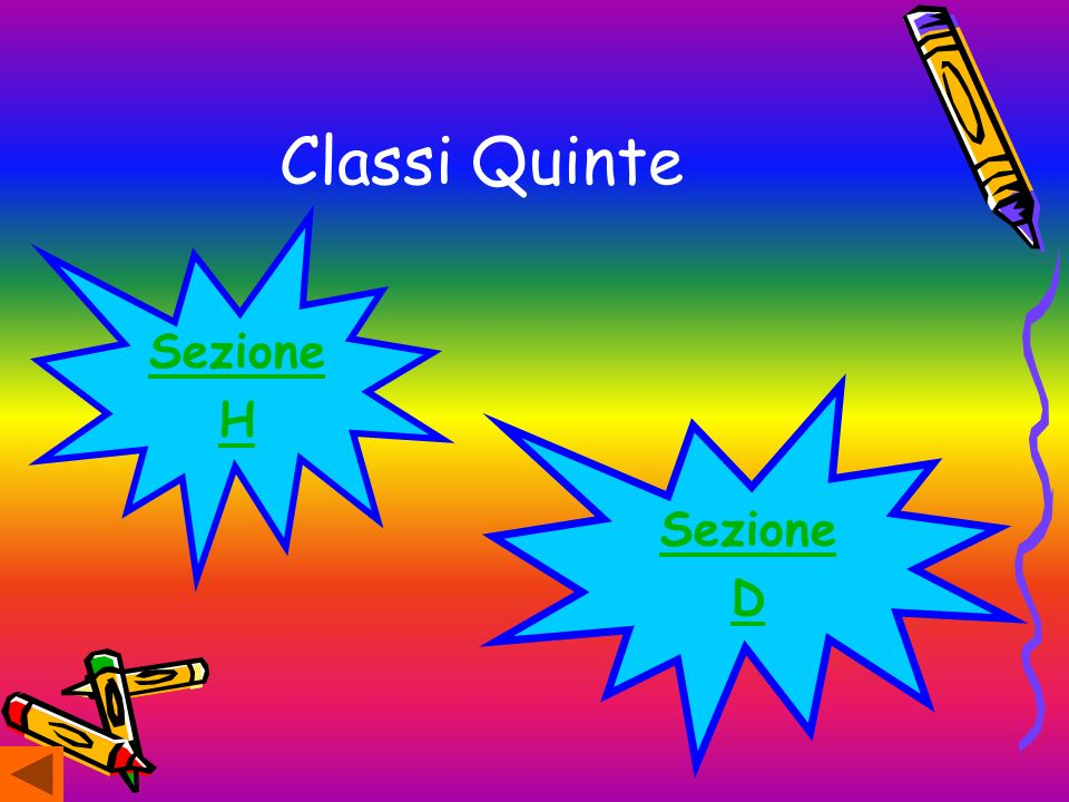 Classi Quinte Sezione H Sezione D