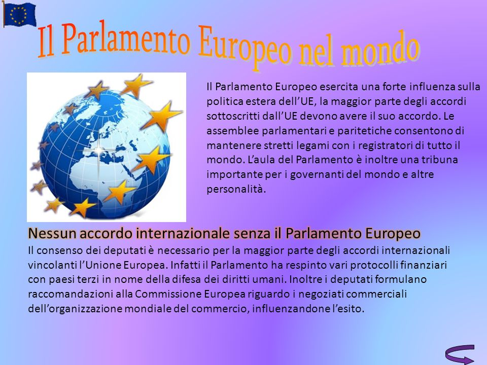 Il Parlamento Europeo nel mondo