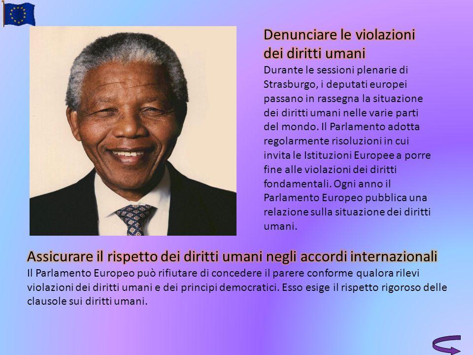 Denunciare le violazioni dei diritti umani