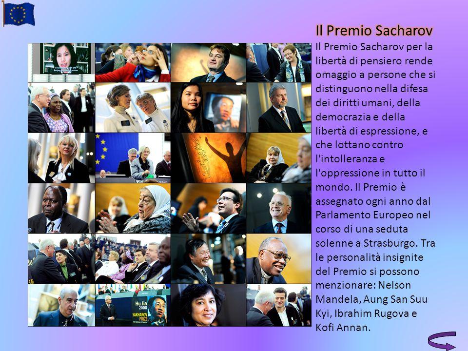 Il Premio Sacharov