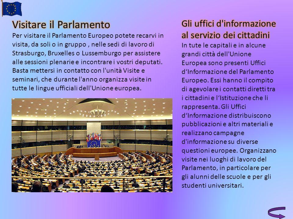 Visitare il Parlamento