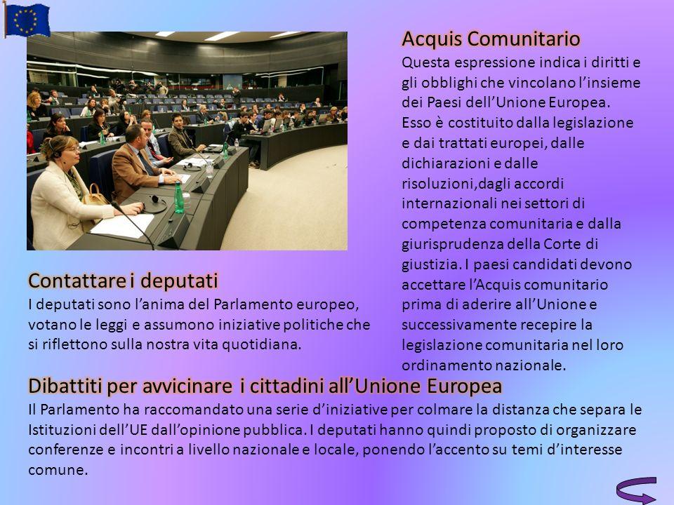 Dibattiti per avvicinare i cittadini all'Unione Europea