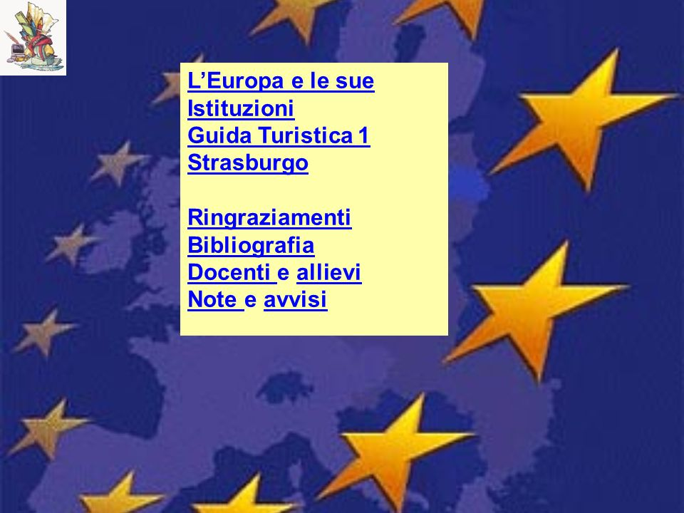 L'Europa e le sue Istituzioni
