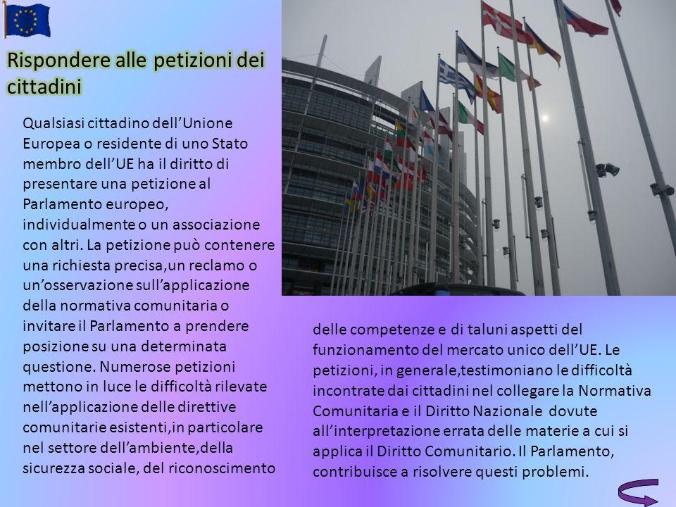 Rispondere alle petizioni dei cittadini