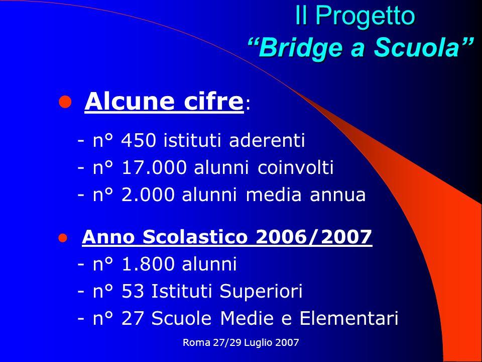 Il Progetto Bridge a Scuola