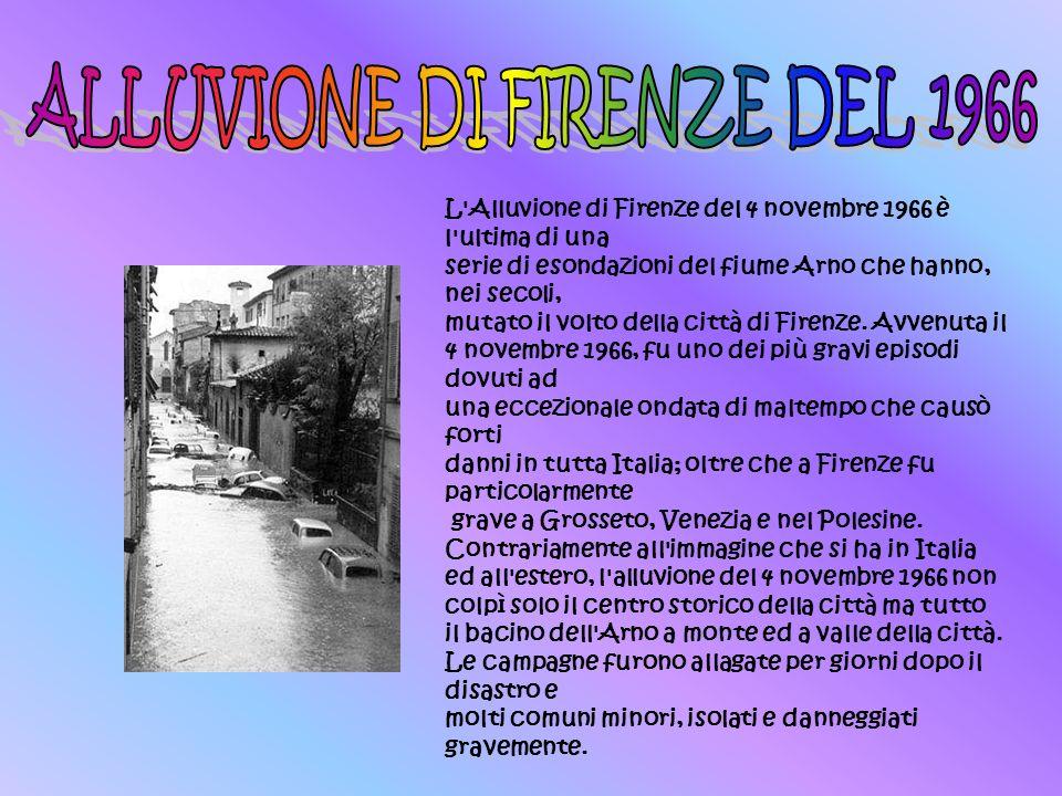 ALLUVIONE DI FIRENZE DEL 1966