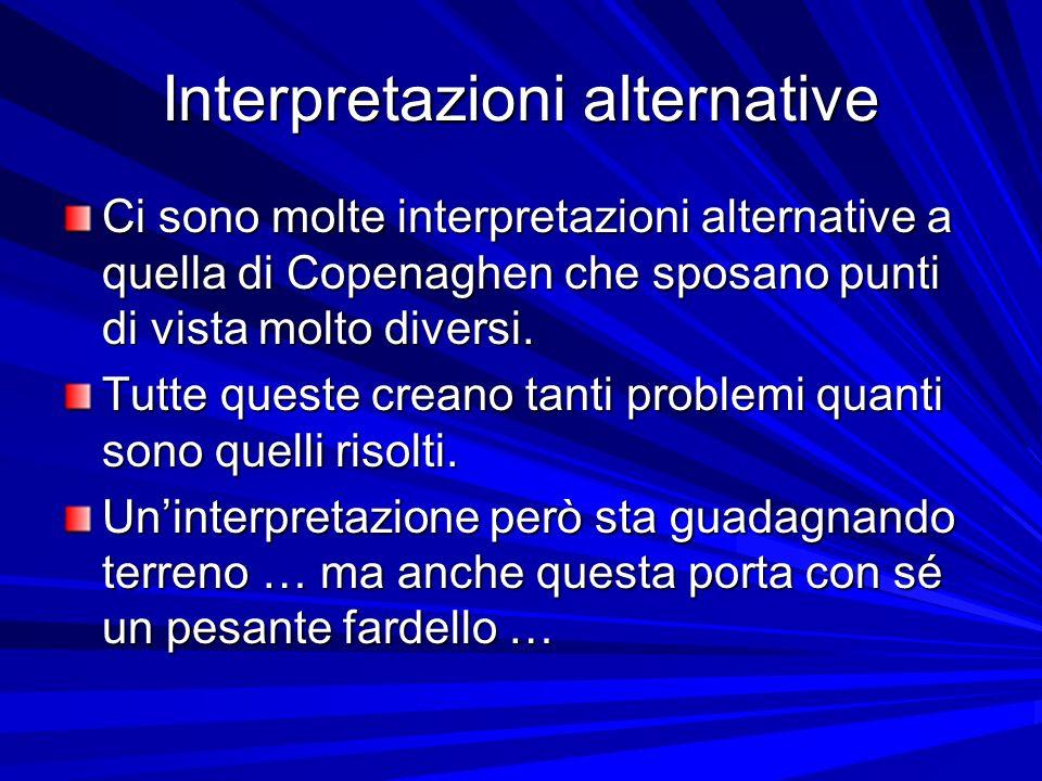 Interpretazioni alternative