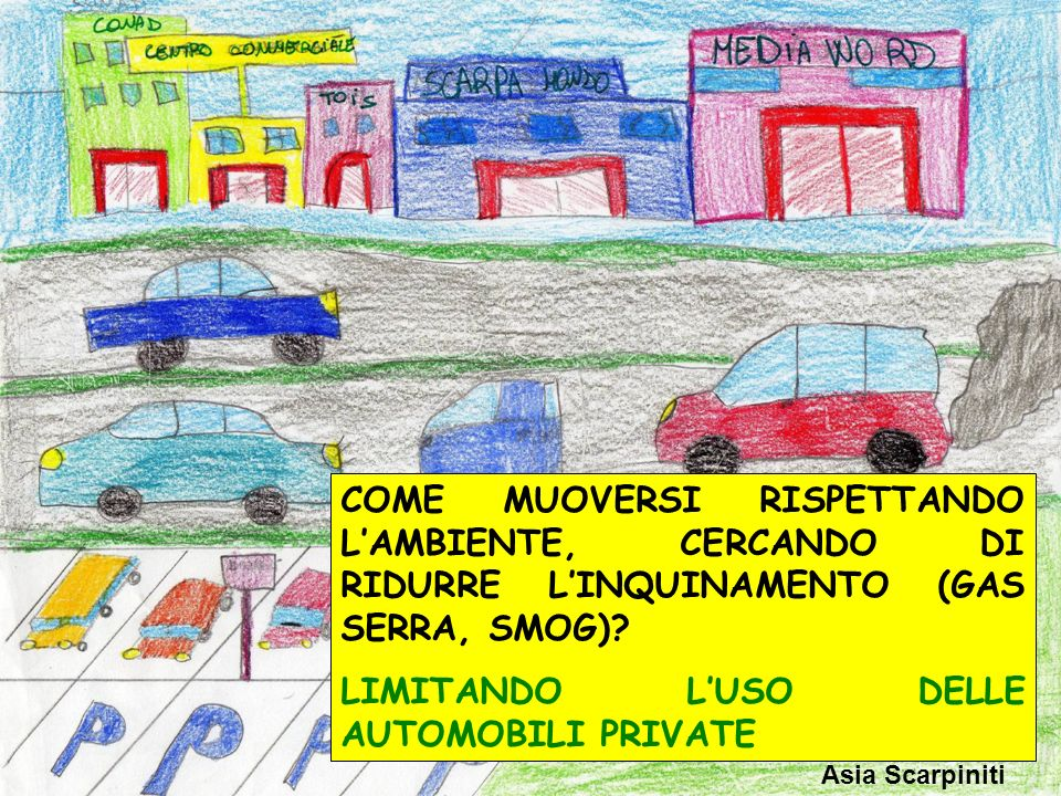 LIMITANDO L'USO DELLE AUTOMOBILI PRIVATE