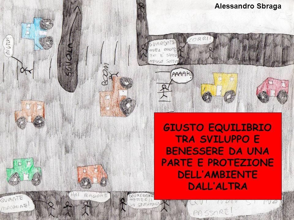 Alessandro Sbraga GIUSTO EQUILIBRIO TRA SVILUPPO E BENESSERE DA UNA PARTE E PROTEZIONE DELL'AMBIENTE DALL'ALTRA.