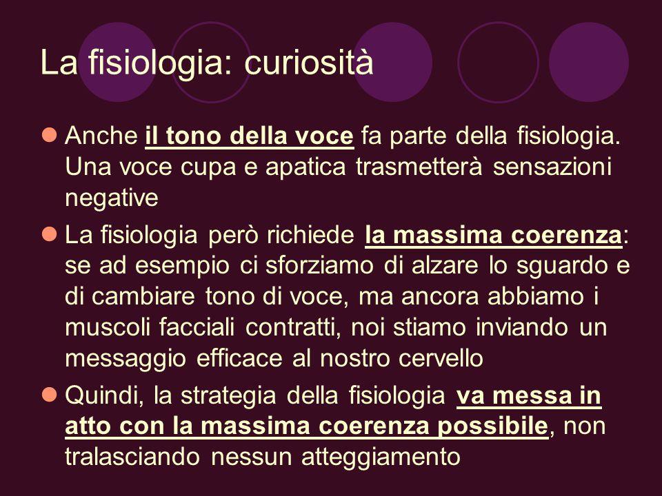 La fisiologia: curiosità