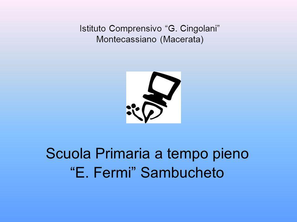 Istituto Comprensivo G. Cingolani Montecassiano (Macerata)