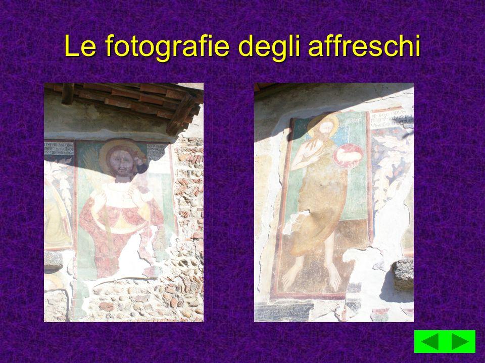 Le fotografie degli affreschi
