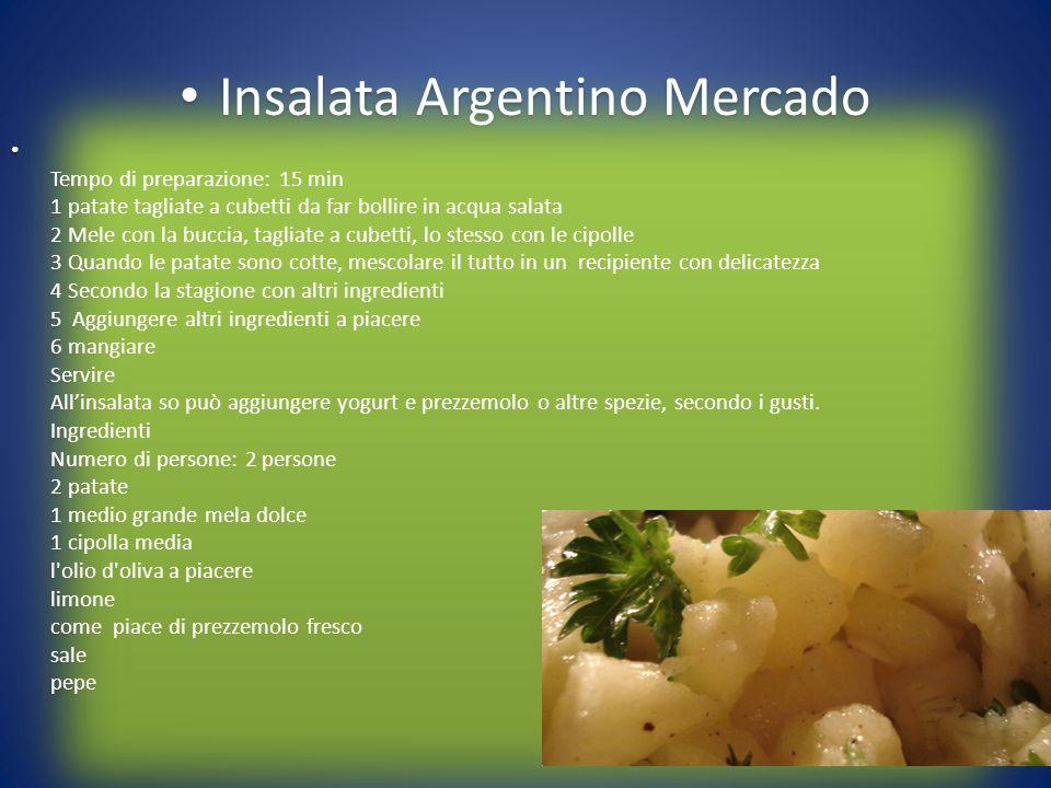 Insalata Argentino Mercado