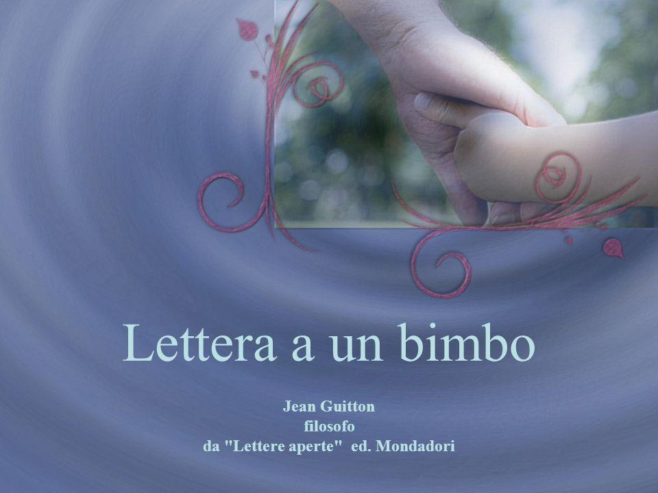 Jean Guitton filosofo da Lettere aperte ed. Mondadori