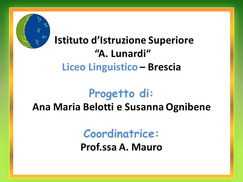 Ana Maria Belotti e Susanna Ognibene