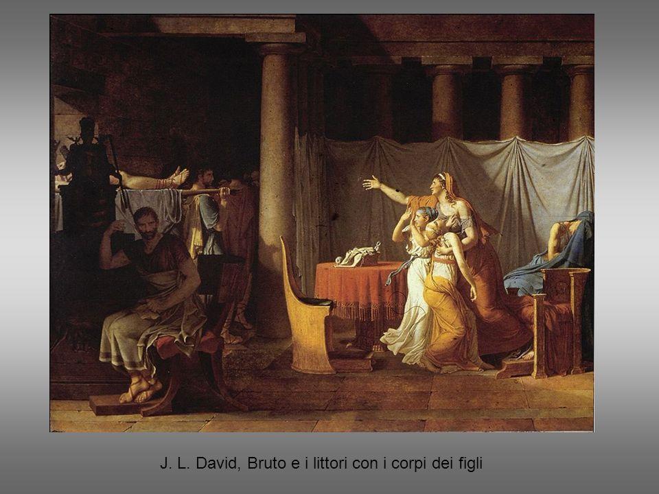 J. L. David, Bruto e i littori con i corpi dei figli