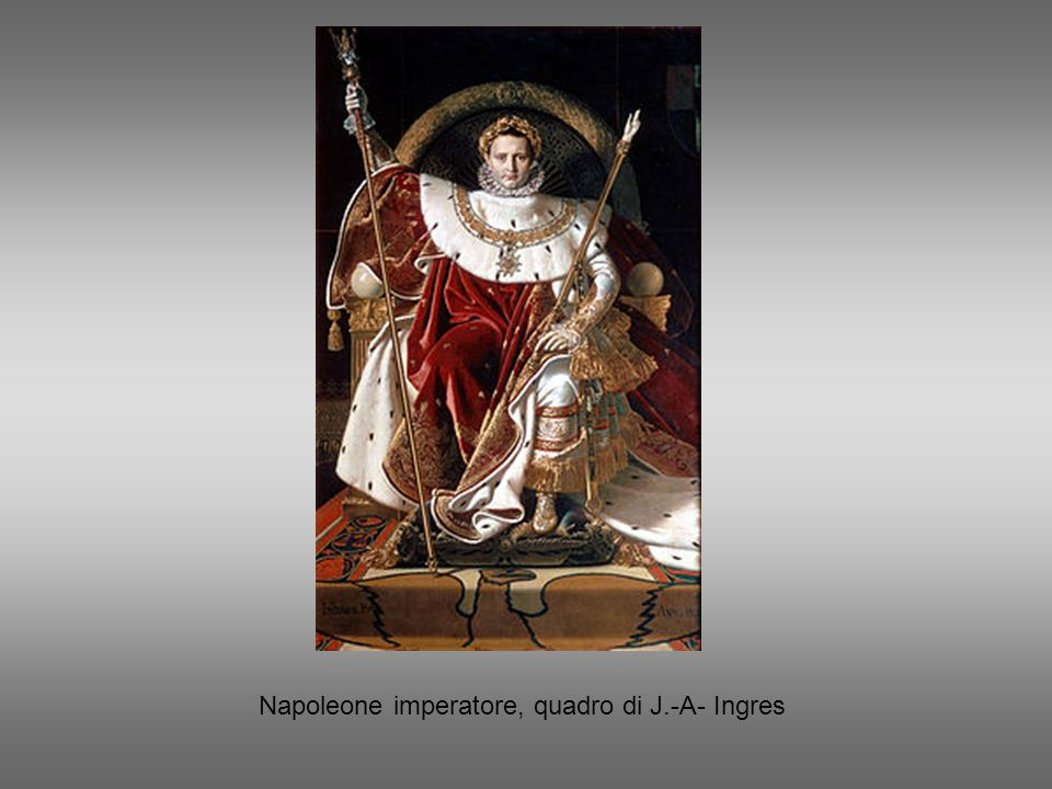 Napoleone imperatore, quadro di J.-A- Ingres