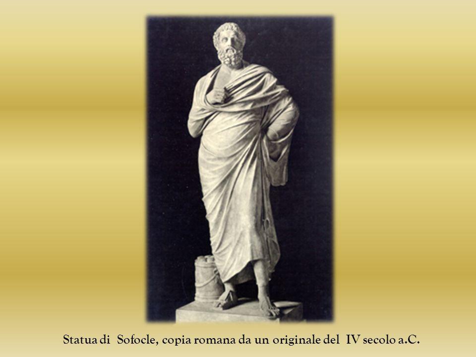 Statua di Sofocle, copia romana da un originale del IV secolo a.C.