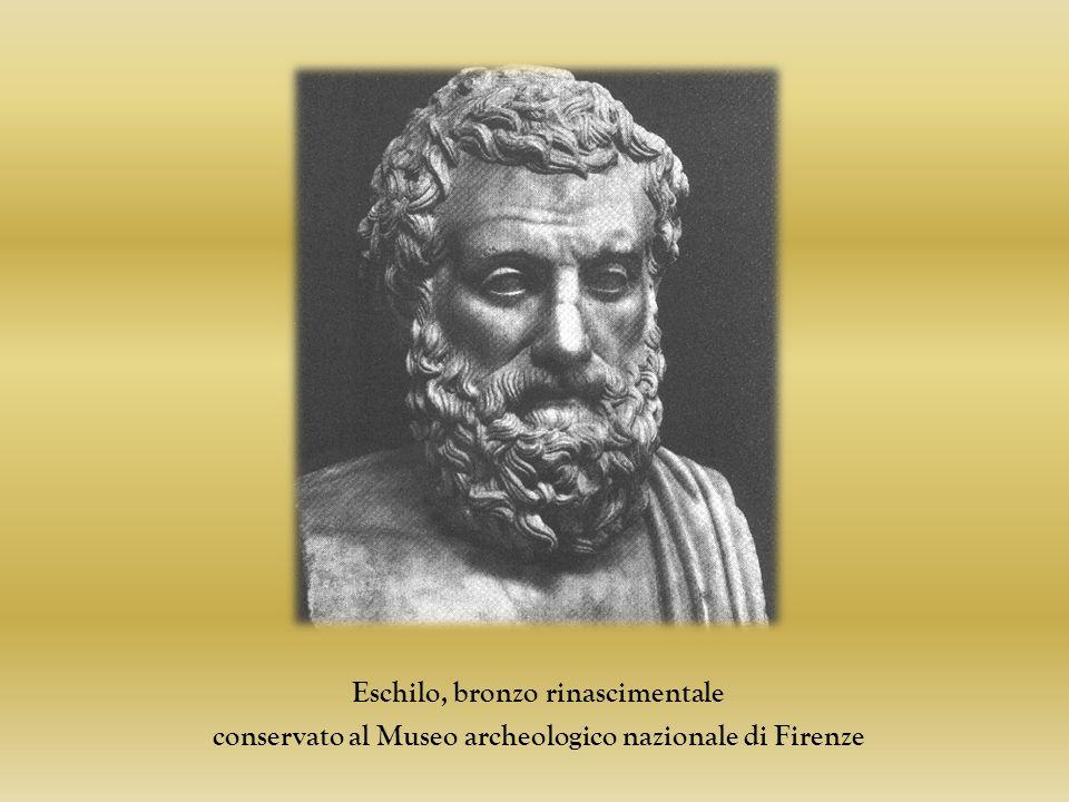 Eschilo, bronzo rinascimentale