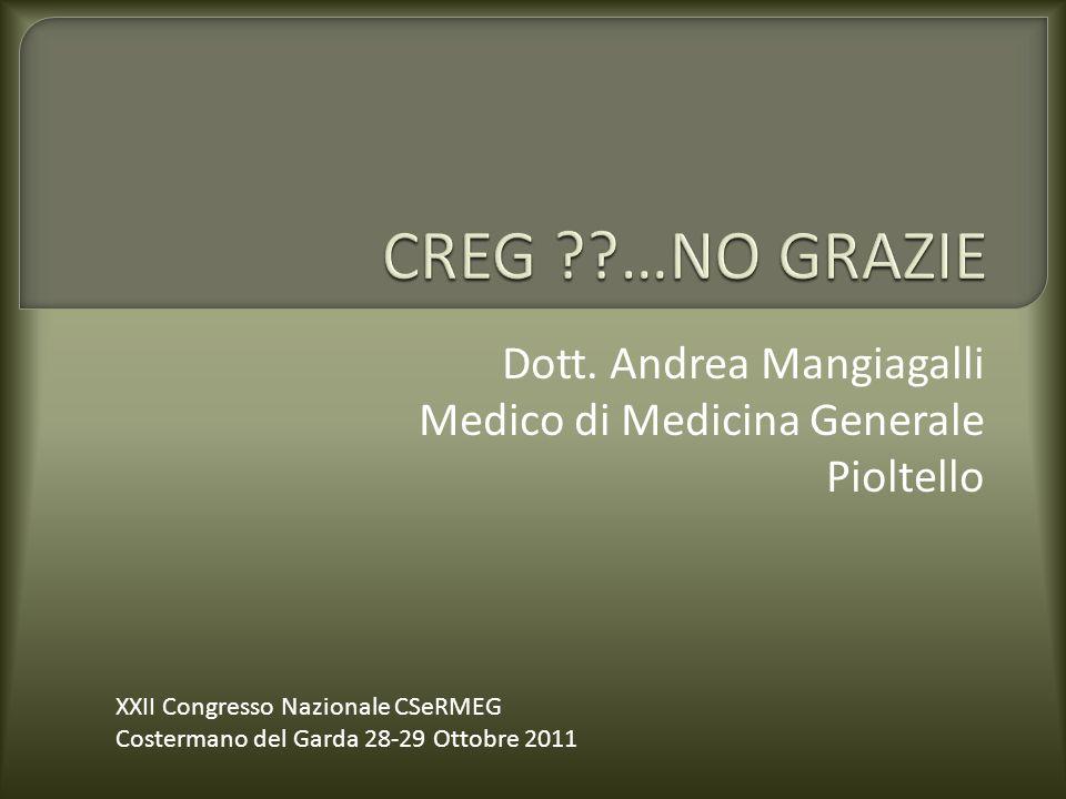 Dott. Andrea Mangiagalli Medico di Medicina Generale Pioltello