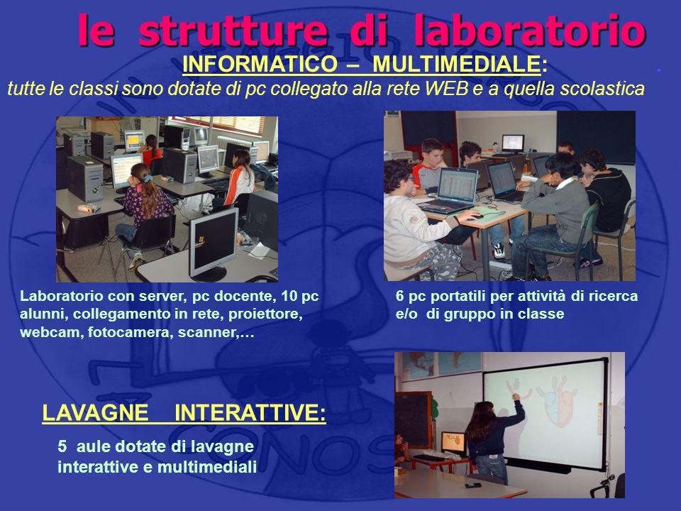 le strutture di laboratorio