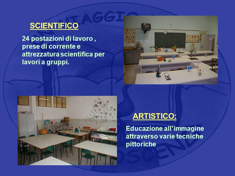 SCIENTIFICO ARTISTICO: