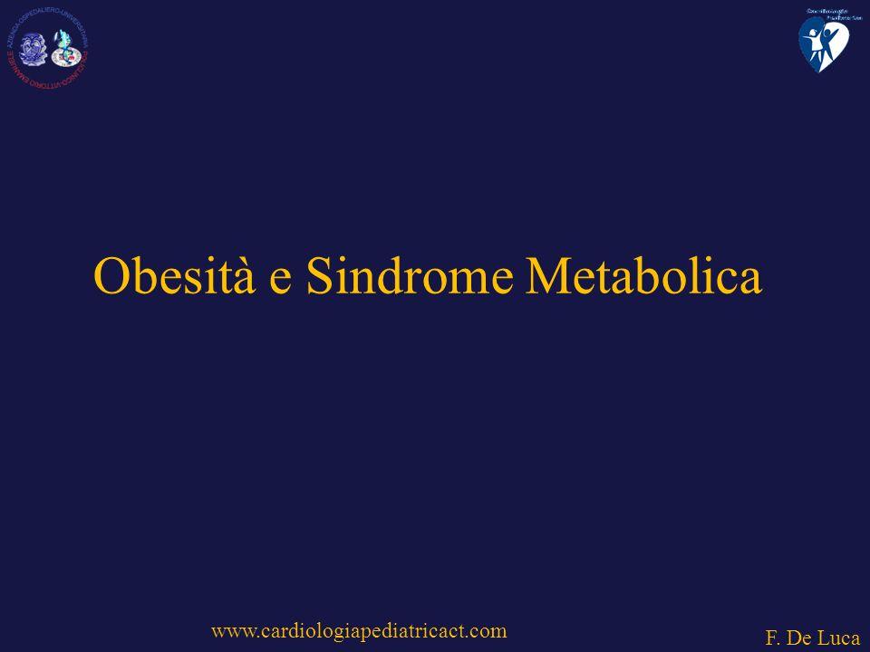 Obesità e Sindrome Metabolica