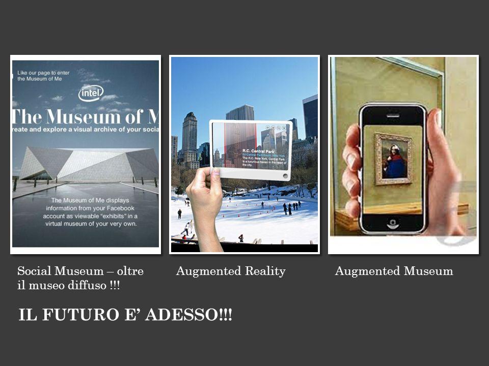 IL FUTURO E' ADESSO!!! Social Museum – oltre il museo diffuso !!!