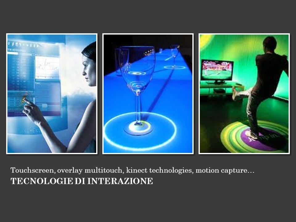 TECNOLOGIE DI INTERAZIONE
