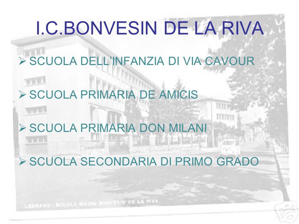 I.C.BONVESIN DE LA RIVA SCUOLA DELL'INFANZIA DI VIA CAVOUR