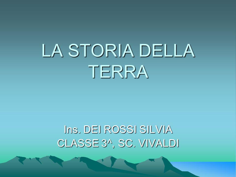 Ins. DEI ROSSI SILVIA CLASSE 3^, SC. VIVALDI