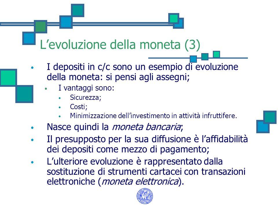 L'evoluzione della moneta (3)