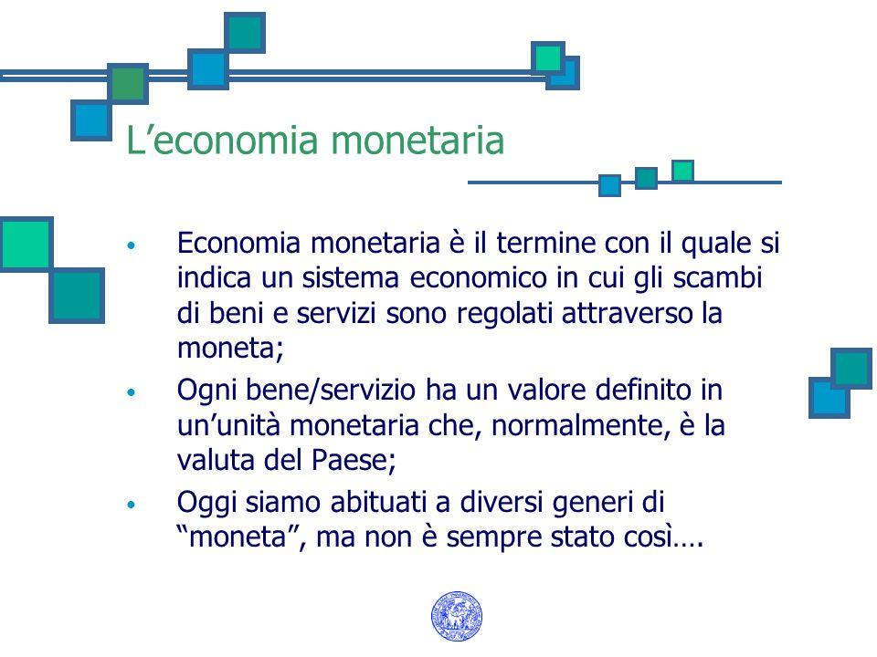 L'economia monetaria