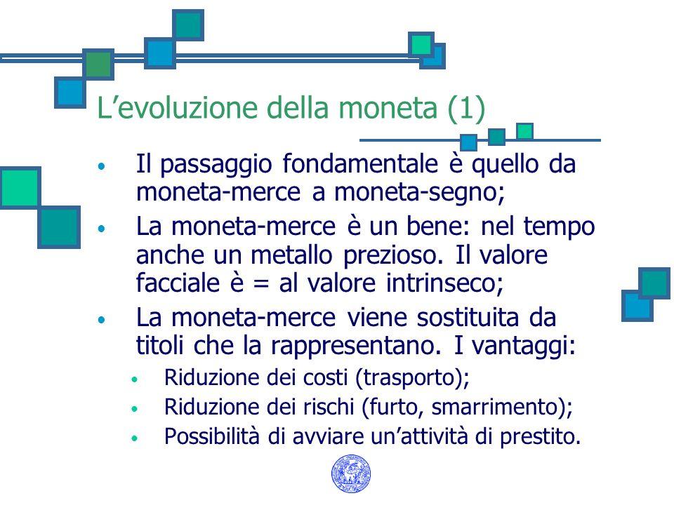 L'evoluzione della moneta (1)